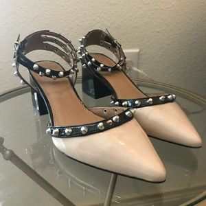 ASOS studded mid shoes - US size 9